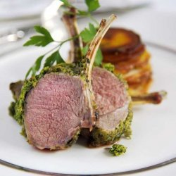 Rack of Lamb with an Herb Crust