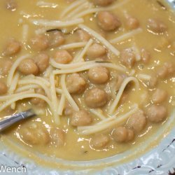 Pasta with Garbanzo Beans