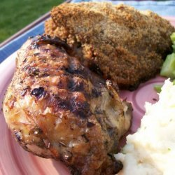 Armenian Herb Marinade Grilled Chicken Breasts