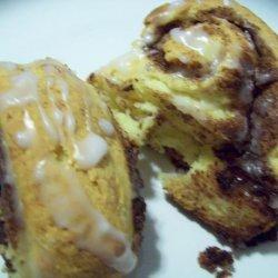 BisQuickie Cinnamon Rolls