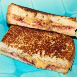Fried Peanut Butter and Jelly Sandwich