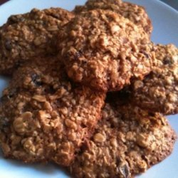 Healthy Honey Oatmeal Cookies