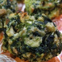 Spinach Balls (appetizer)