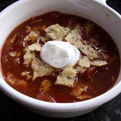 Crock Pot -Chicken Tortilla Soup