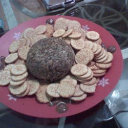 Cheese Ball With Everything