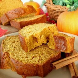 Pumpkin Pie Spice Bread