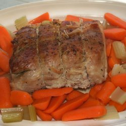 Tender Roast Loin Of Pork