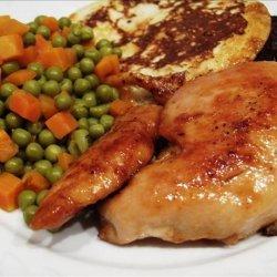 Chicken Breasts with Spicy Honey Orange Glaze