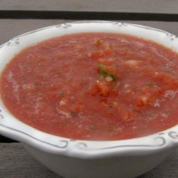 Homemade Salsa using canned tomatoes!