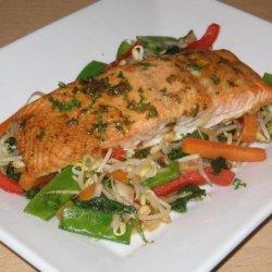 Baked Seasoned Salmon
