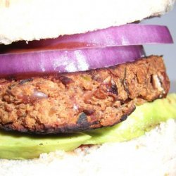 Jalapeno-Red Bean-BBQ Burgers