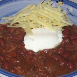 Crock Pot Chili Chili and Beans