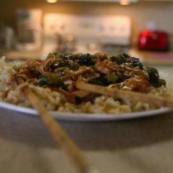 Chinese  brown Sauce  Chicken