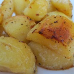 Super Easy Roasted Red Potatoes