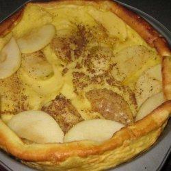 Kittencal's German Apple Puff Pancake