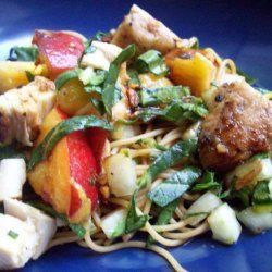 Asian Chicken and Pasta Salad