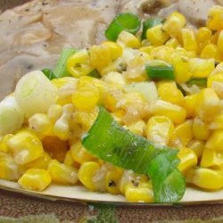 Microwave Corn in Butter Sauce