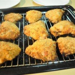 Baked Buttermilk Mustard Chicken Thighs