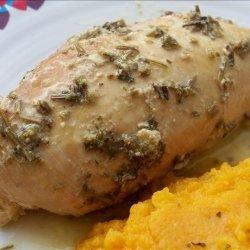 Crock Pot Garlic-Rosemary Chicken Breast