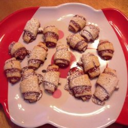Raspberry Pastry Roll-Ups