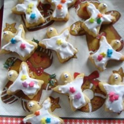 Buttery Cut-Out Christmas Cookies