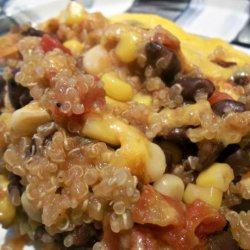 Southwestern Quinoa Vegetable Casserole