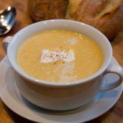 Simple Roasted Butternut Squash Cinnamon Soup