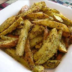 Zesty Baked Fries