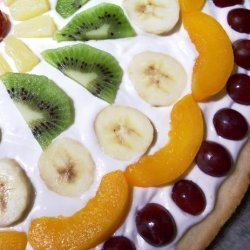 Heather's Fruit Pizza Quick and Simple
