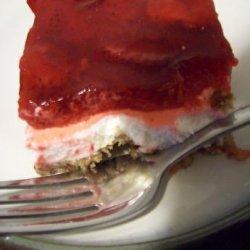 Strawberry Pretzel Jell-O