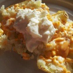 Kittencal's Microwave Baked Potato