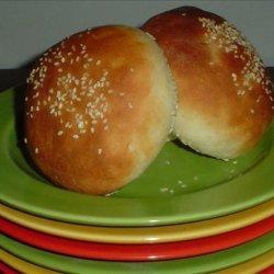 Beautiful Burger Buns
