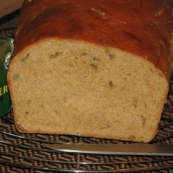 100% Whole Wheat Bread (Non-Dense/Heavy, White Bread Texture)