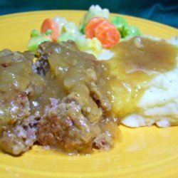 Tasty Salisbury Steak