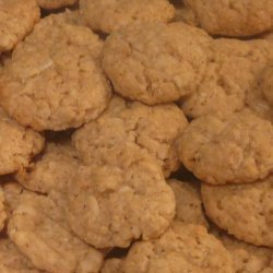 Crispy Coconut-Oatmeal Cookies