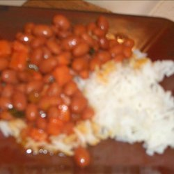Authentic Puerto Rican Rice and Beans