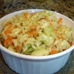 Kittencal's Marinated Oil and Vinegar Coleslaw