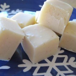 White Chocolate Eggnog Fudge recipe