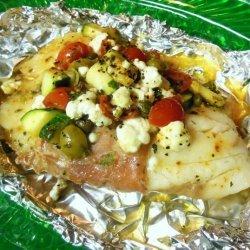 Mediterranean Tilapia Pockets #RSC recipe