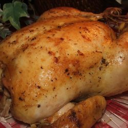 Delicious Roast Chicken (Or Turkey, Cornish Hens, Etc.) recipe