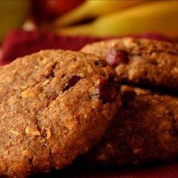 Pumpkin Cranberry Breakfast Cookie