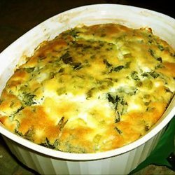 Impossible Greek Spinach Pie