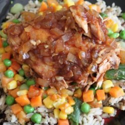 Savory Sweet Crock Pot Chicken