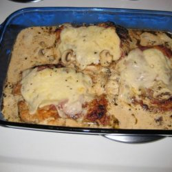 Boneless Breast of Chicken Saltimbocca recipe