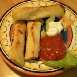 Potato Rolled Tacos