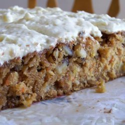 Blue Ribbon Carrot Cake [with Buttermilk Glaze]