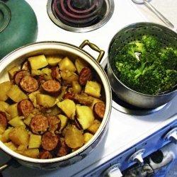 Kielbasa and Potatoes