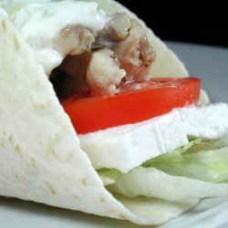 Chicken Souvlaki Wrap recipe