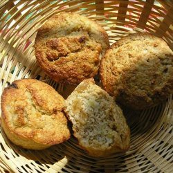 Banana Oat Bran Muffins With No Added Sugar recipe