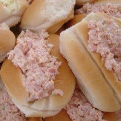 Linda's Ham Salad Sandwich (Sandwiches) or Finger Rolls